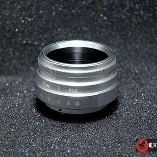 Octopus 25mm f1.8 EX Lens For fujifilm XT-1, X-T1, X-A1, X-A2, X-A3, X-A10, X-T10, X-T20, X-Pro1, X-Pro2
