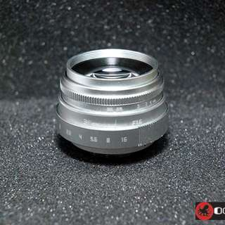 Octopus 35mm f1.6 EX Lens For Fujifilm X-T1, X-T2, X-A1, X-A2, X-A3, X-A10, X-T10, X-T20, X-Pro1, X-Pro2
