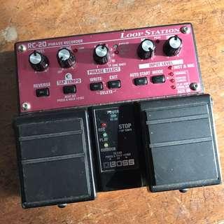 Boss RC-20 Loop station - 2 pedal