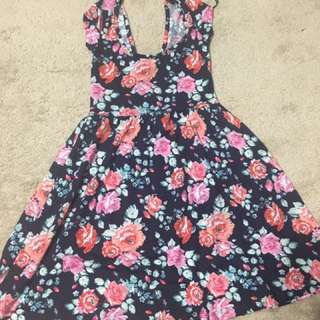 G12 size XS floral print summer dress