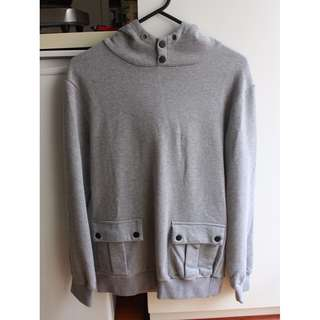 Double Patch Pocket Hoodie (S)