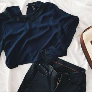 F21 cropped long sleeves 💕