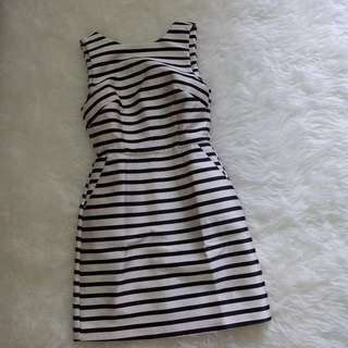 Dress stripe bahan tebel