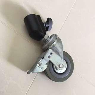Lightstand wheels set (3 pieces)