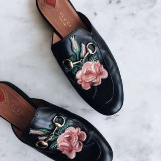 Gucci Inspired Mules