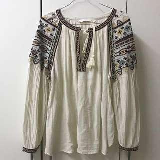 Zara Bohemian Top (Original)
