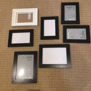 IKEA photo frames $1 each