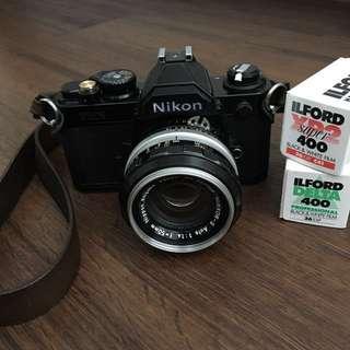 Nikon FM2n + Kogaku Nikkor-S 50mm f1.4 AI