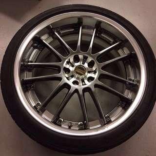 """19"""" RAYS GT30 2-piece rim"""
