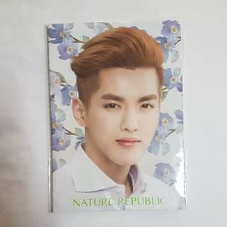 Official Kris/WuYiFan Nature Republic Notebook