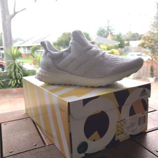 Triple white ultraboost 3.0 us 8.5 and 10