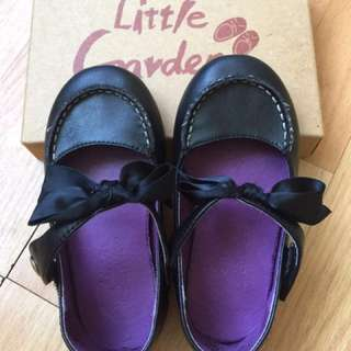 Little Garden蝴蝶結娃娃鞋