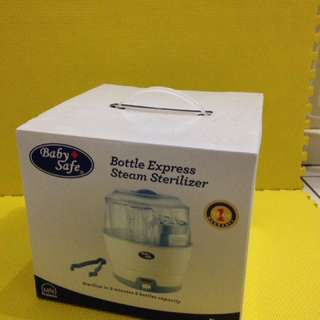 Bottle express steam sterilizer baby safe