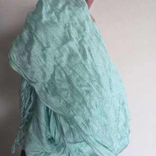 Witchery mint scarf shawl