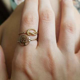 9ct gold rings !