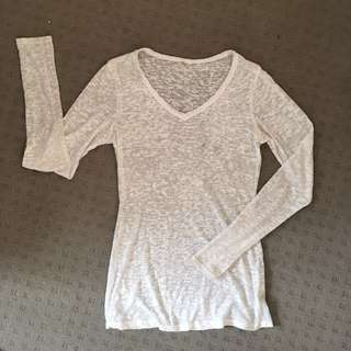 Size 8 Sheer Top
