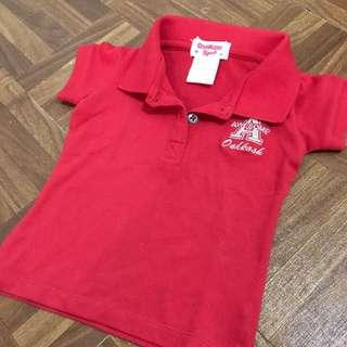 OshKosh baby girl polo shirt