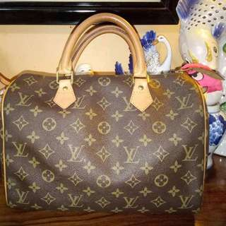Preloved Authentic Louis Vuitton Speedy 30