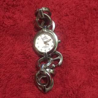 Unisilver stainless watch