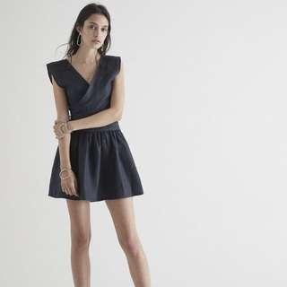 Sir The Label - Navy Linen Dress