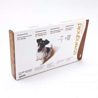Stronghold for Dogs 5.1-10kg (Flea and Heartworm Prevention and Treatment)