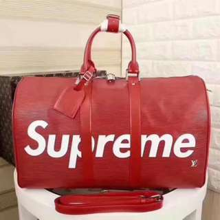 🆕LV supreme KEEPALL 🆕