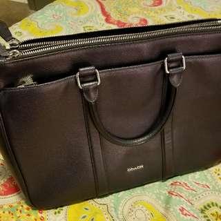 Coach Metropolitan leather laptop bag