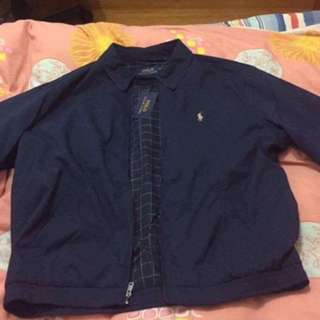 Ralph Lauren navy windbreaker