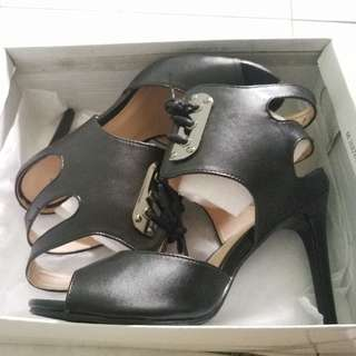 Something Borrowed Lace High Heels