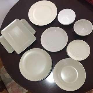 Plate Dish Bowl Kitchenware Set