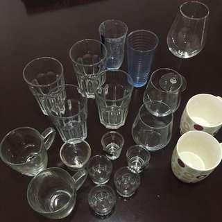 Glasses: Cups Mugs Shot Espresso Wine