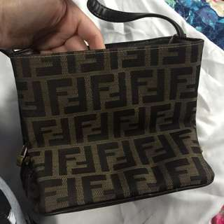 Fendi square handbag