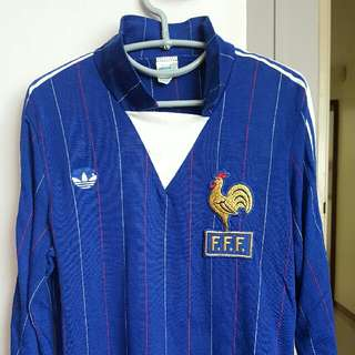 France jersey. World Cup 1982. Very rare.
