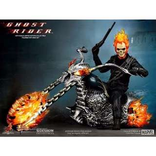 Hot toys Ghost Rider with Hellcycle MMS 133 Marvel Avengers