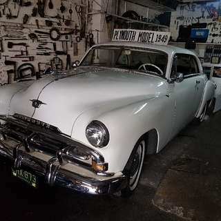 1949 Plymouth Special Deluxe 2 Door Coupe