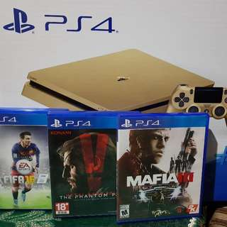 PS4 GOLD 500GB