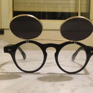 Vintage Flip Up Glasses
