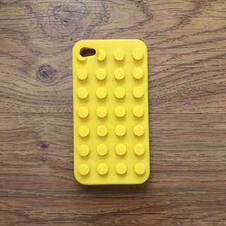 Casing rubber iphone4