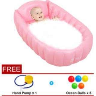 STOK BARU: Shuidi High Quality Water Thick Inflatable Baby Bathtub