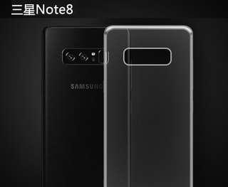 三星samsung galaxy NOTE 8 透明手機殼 TPU軟殼 保護套 手機套