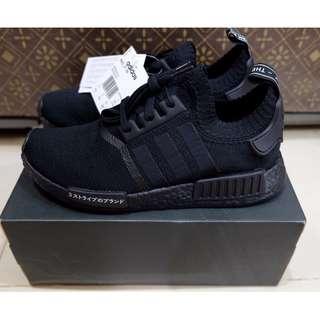 OPEN PO adidas NMD R1 PK Japan Triple Black BNIB 100% authentic