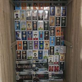 Assorted Funko Pop Personal Collection