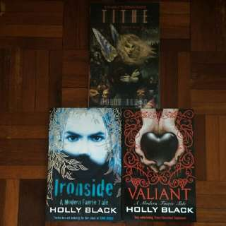 A Modern Faerie Tale Series by Holly Black