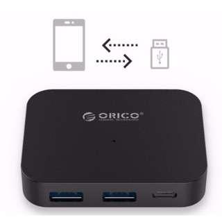 ORICO 4 PORT USB TYPE C HUB - TC2U-U3