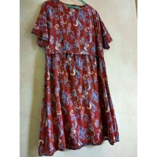 Dress Batik Selutut