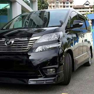 TOYOTA VANFALRIE 3.5 ZG 2008 SUPER TIP TOP CONDTION (BEST PRICE IN TOWN) (SGPORE SCRAP CAR)