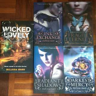 Wicked Lovely Series + BONUS BOOK! by Melissa Marr