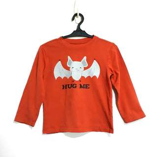 "(5Y) Crazy 8 ""Hug Me"" Bat longsleeves"