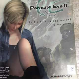Parasite Eve 2 official strategy guide