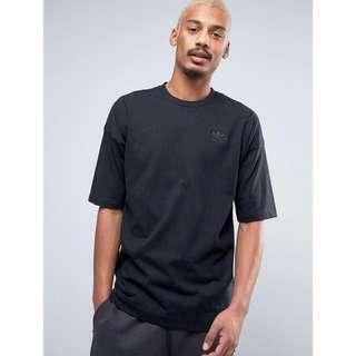 Adidas Original Shadow Tones T-shirt with Dropped Shoulder